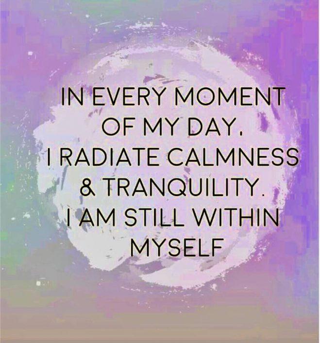 still within myself