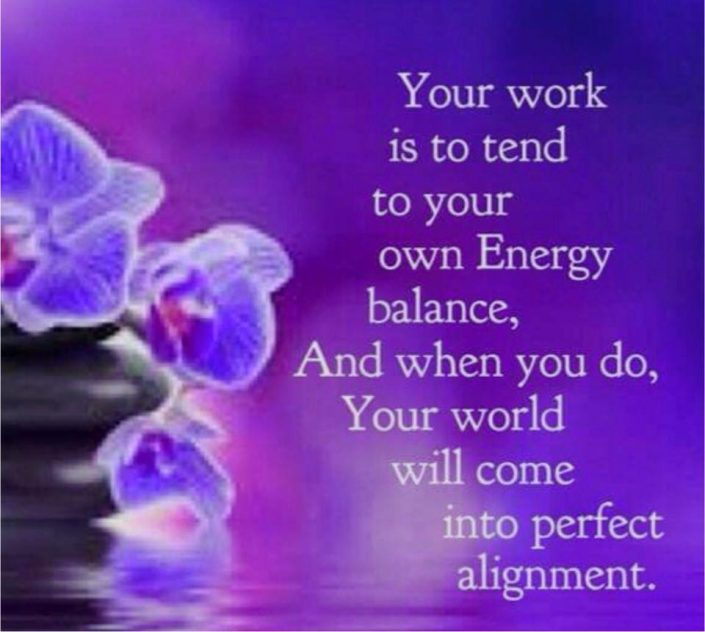 tend your own energy