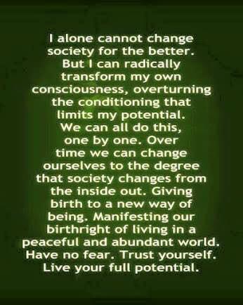 transform your consciousness