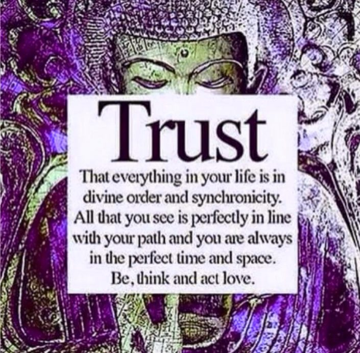 trust all is divine