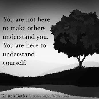 understand yourself